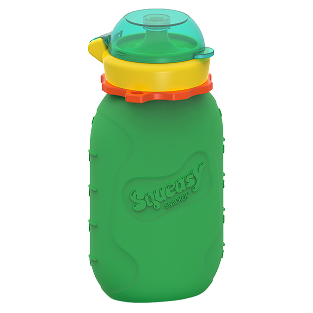 Squeasy Gear Snacker - Green (180ml)