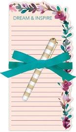 Lady Jayne: Die Cut Notepad - Pressed Leaves