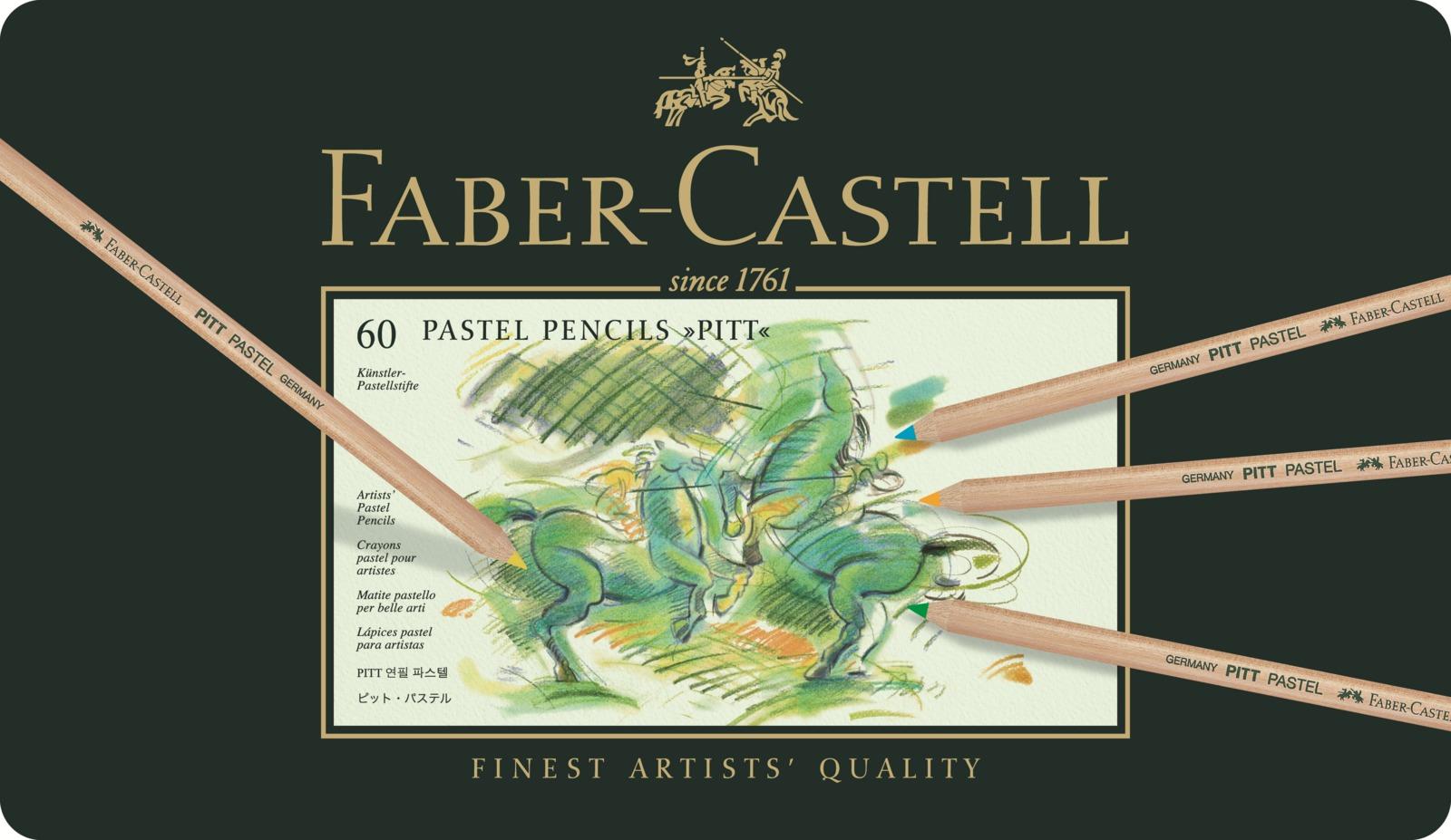 Faber-Castell: Pitt Pastel Pencil (Tin of 60) image