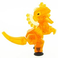 Stikbot: Dino Single - Dilophosaurus (Orange) image