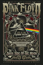 Pink Floyd Maxi Poster - Rainbow Theatre (838)