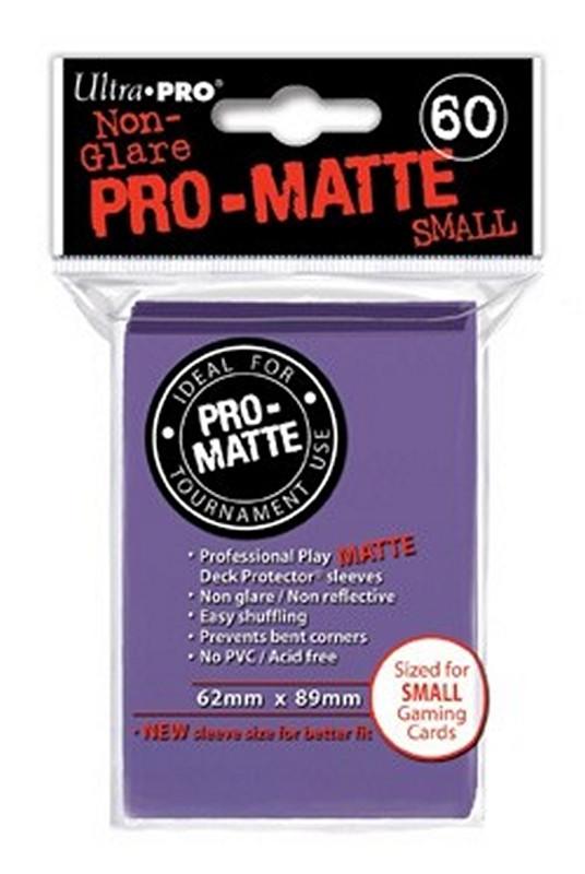Ultra Pro: Deck Protectors Pro-Matte Small Purple (60)