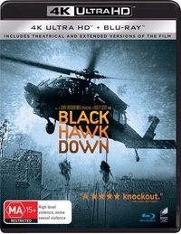 Black Hawk Down on UHD Blu-ray
