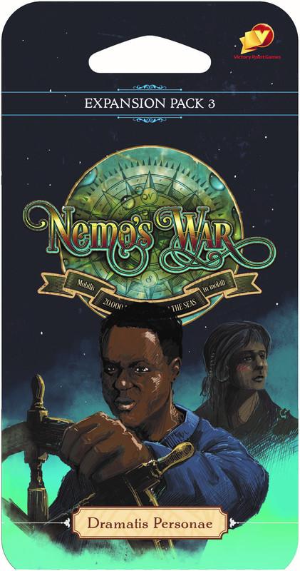 Nemos War: 2nd Edition - Dramatis Personae Expansion
