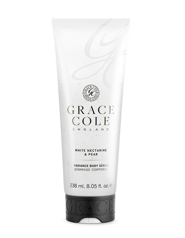 Grace Cole: Body Scrub - White Nectarine & Pear (238ml)