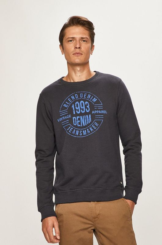 Blend: Dark Navy Blue Sweatshirt - XXL
