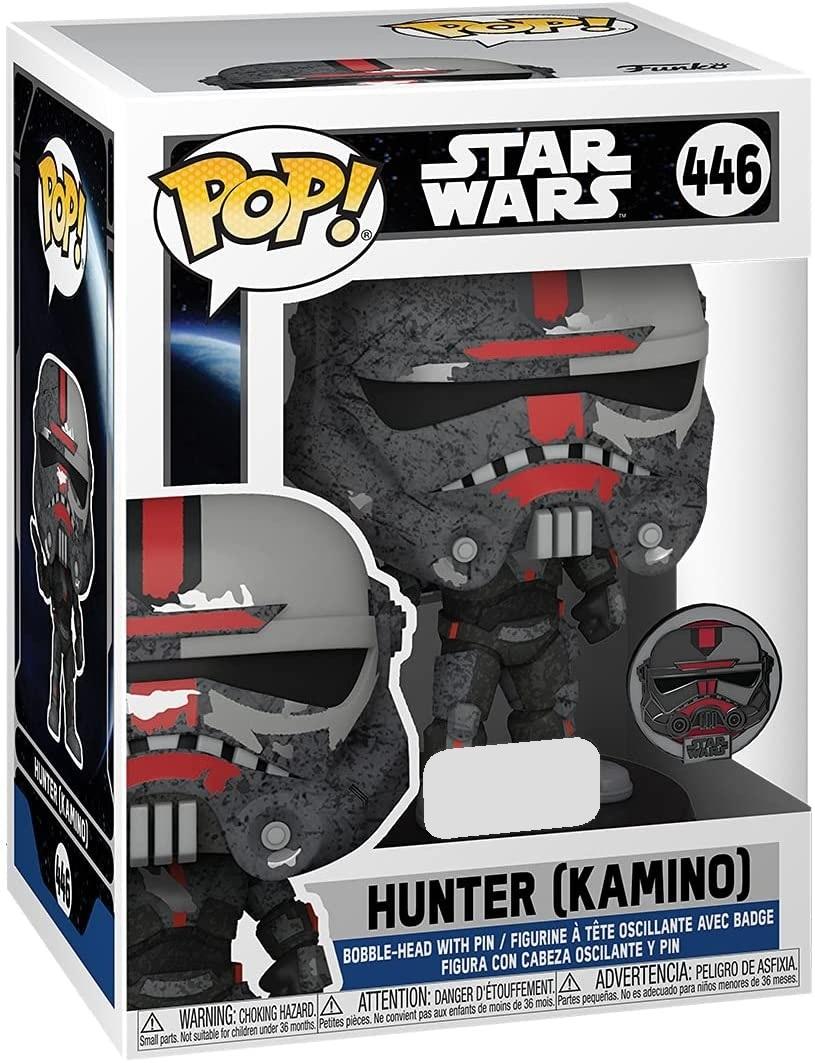 Hunter (Kamino) - Pop! Vinyl + Collector's Pin! image