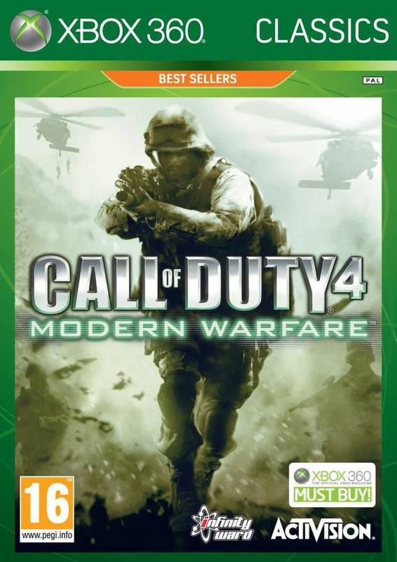 Call of Duty 4: Modern Warfare (Classics) for Xbox 360