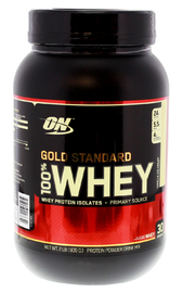 Optimum Nutrition Gold Standard 100% Whey - Vanilla Ice Cream (907g) image