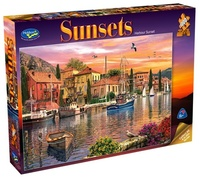 Holdson: 1000pce Puzzles - Sunsets Harbour Sunset