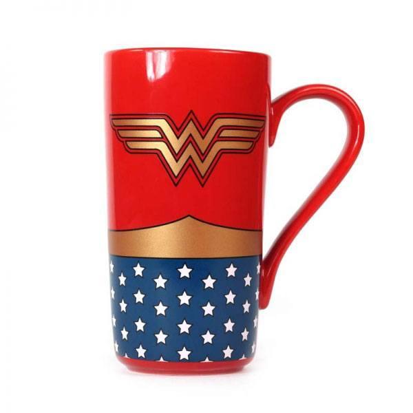 Wonder Woman Logo Latte Mug