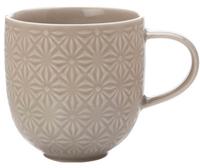 Casa Domani Pavia Mug Textured 400ml Taupe