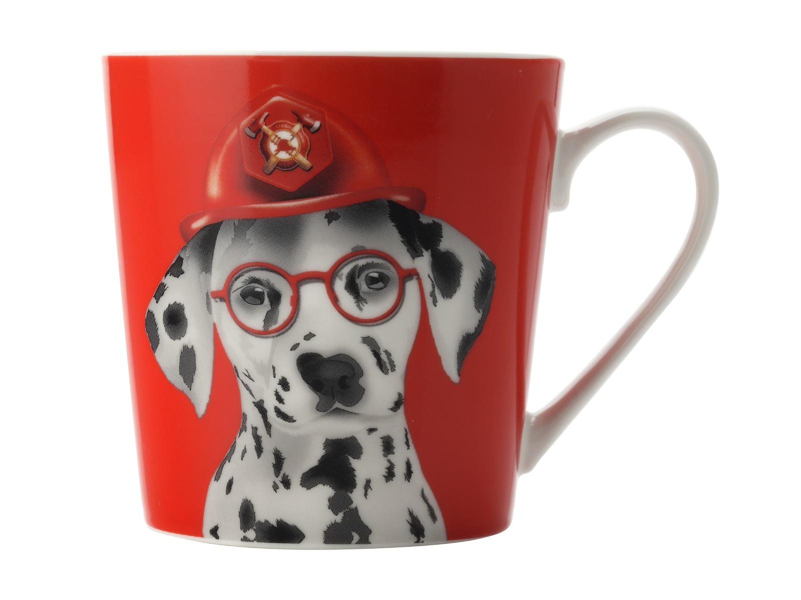 Christopher Vine - Mini Mob The Costume Party Mug Leo Red (350ml) image