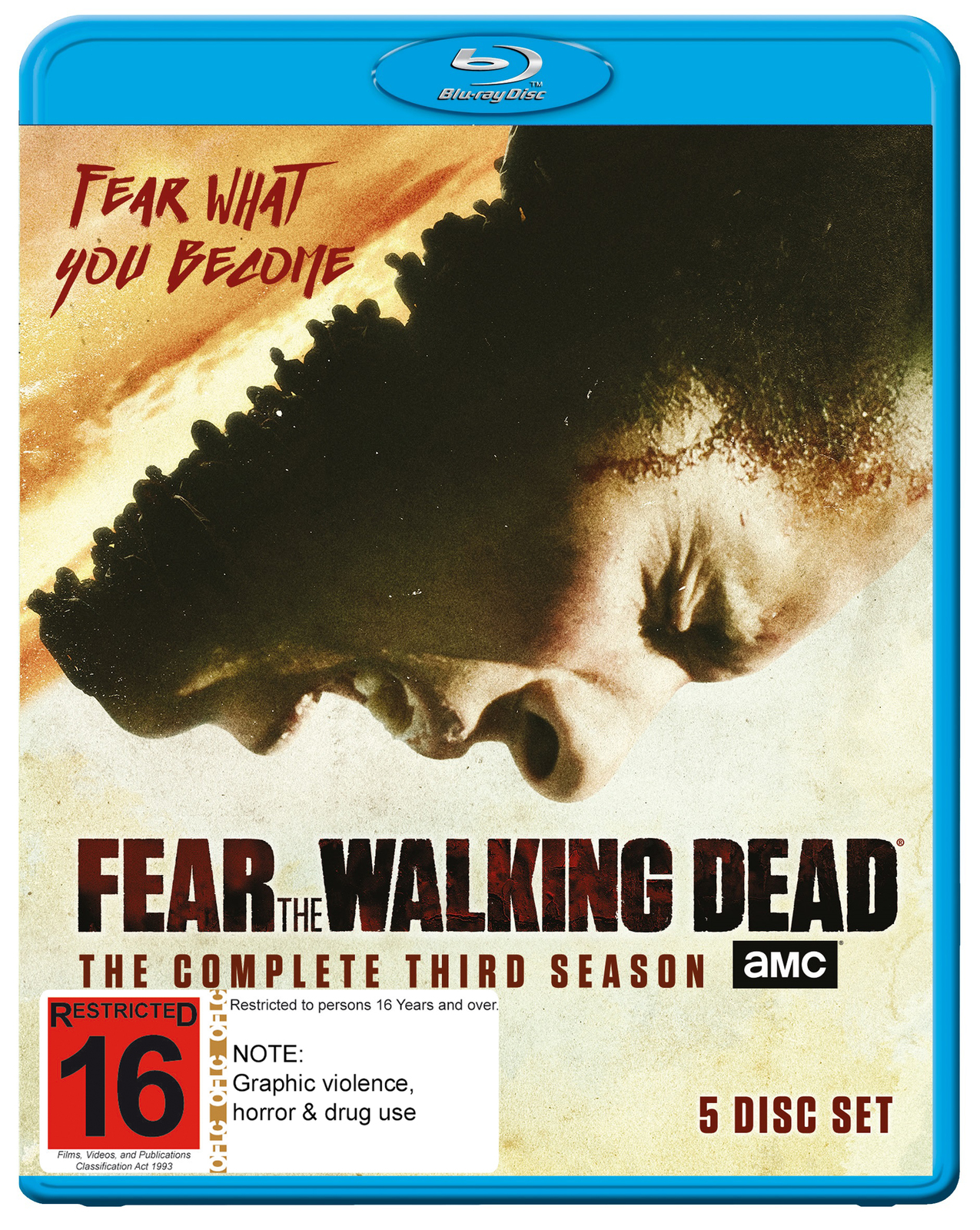 Fear The Walking Dead - The Complete Third Season on Blu-ray image