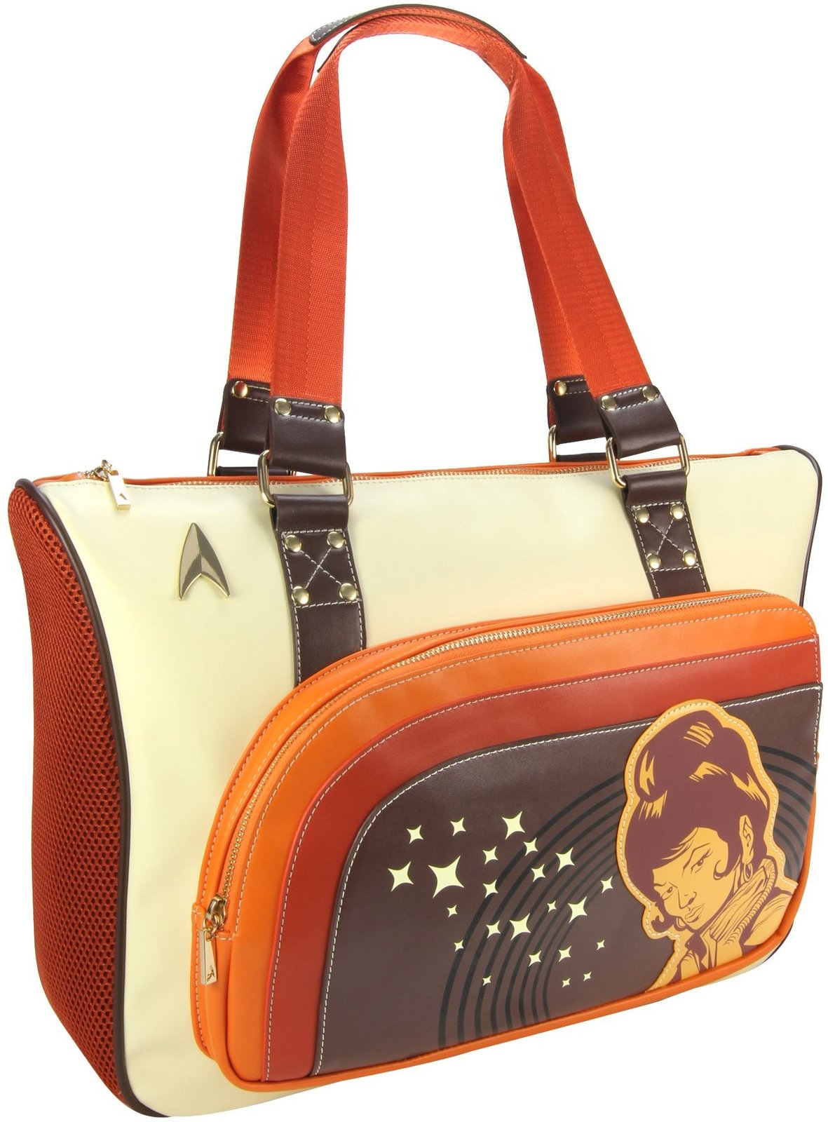 Star Trek Uhura Retro Space Tote image