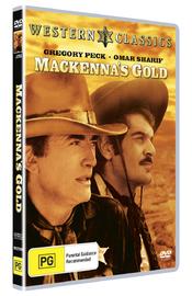 MacKenna's Gold on DVD