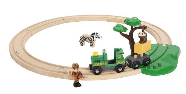 Brio: Railway - Safari Railway Set