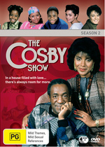 Cosby Show, The - Season 2 (4 Disc Set) on DVD