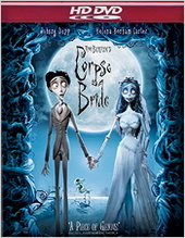 Tim Burton's Corpse Bride on HD DVD