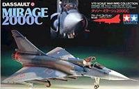 Tamiya Mirage 2000C 1:72 Model Kit