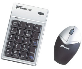 Targus Wireless Keypad and Mouse