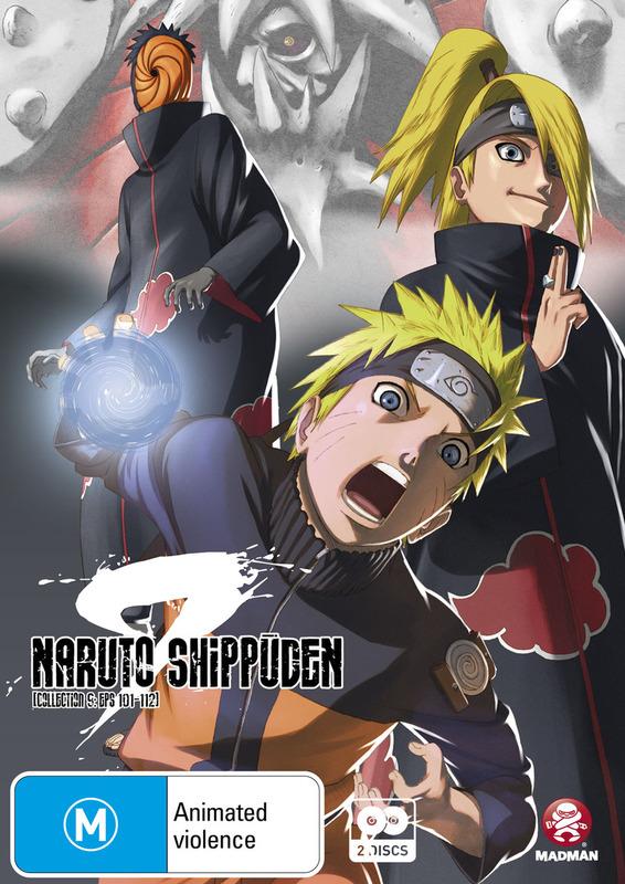 Naruto Shippuden Collection 09 (Eps 101-112) on DVD