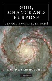 God, Chance and Purpose by David J. Bartholomew image