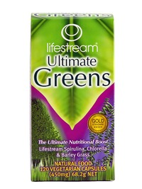 Lifestream Ultimate Greens - 120 Capsules