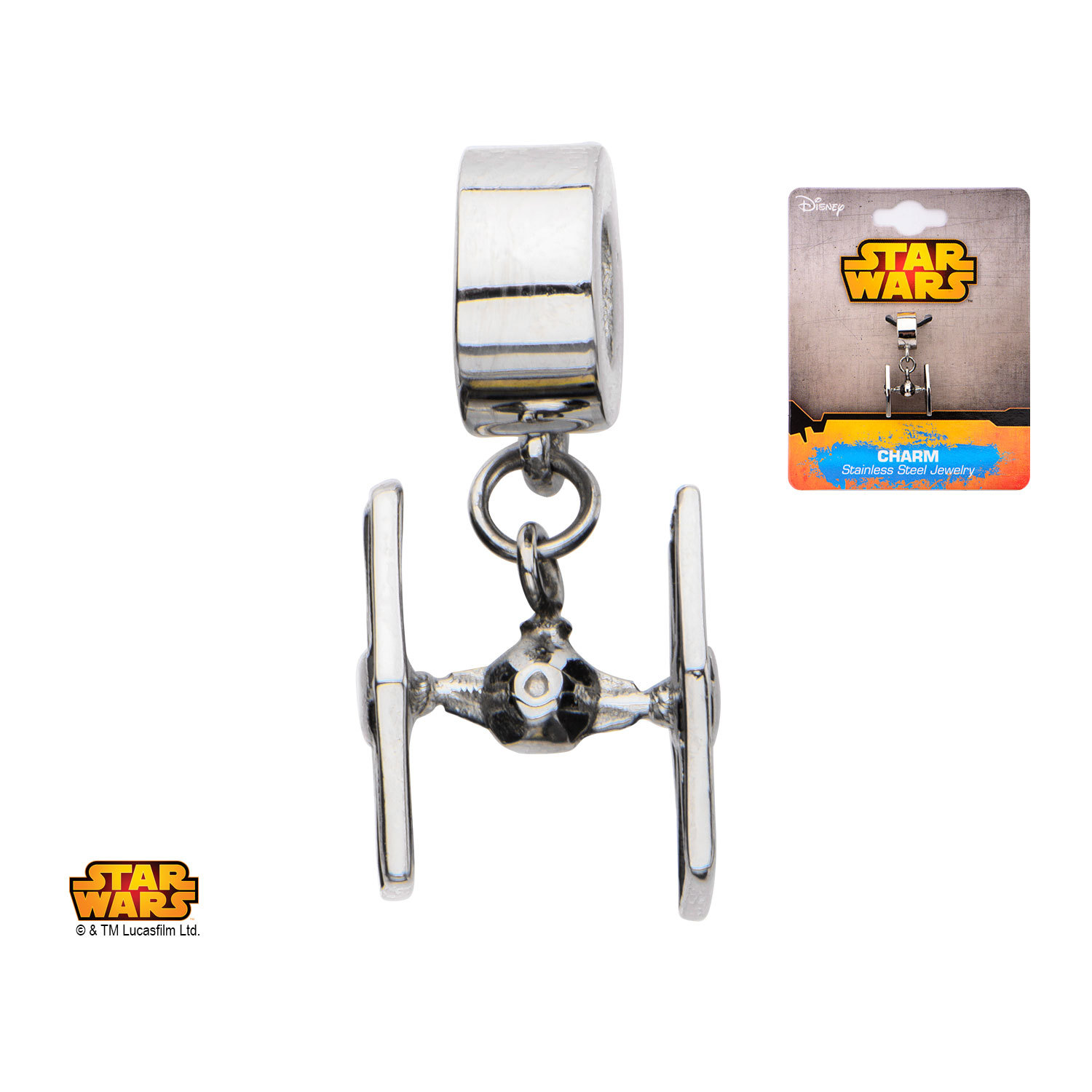 Star Wars Tie Fighter Dangle Charm image