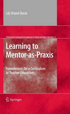 Learning to Mentor-as-Praxis by Lily Orland-Barak image