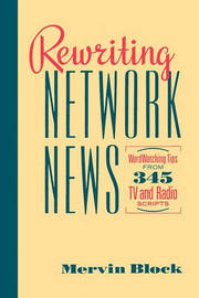 Rewriting Network News by Mervin Block