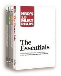 HBR's 10 Must Reads Big Business Ideas Collection (2015-2017 Plus the Essentials) (4 Books) (HBR's 10 Must Reads) by Harvard Business Review