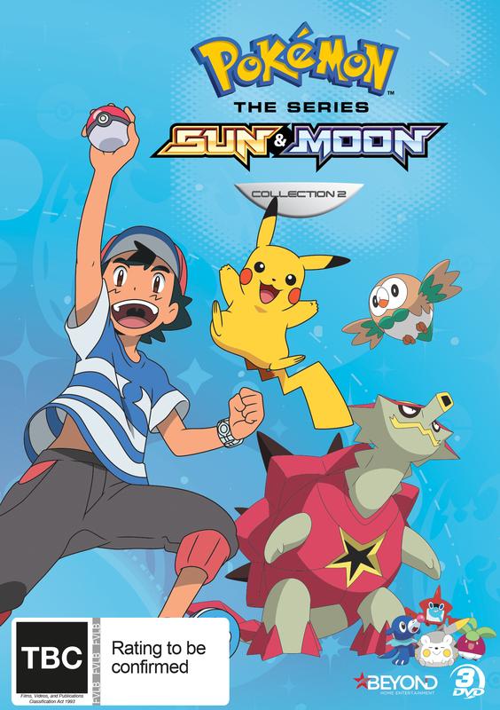 Pokemon The Series: Sun & Moon - Collection 2 on DVD