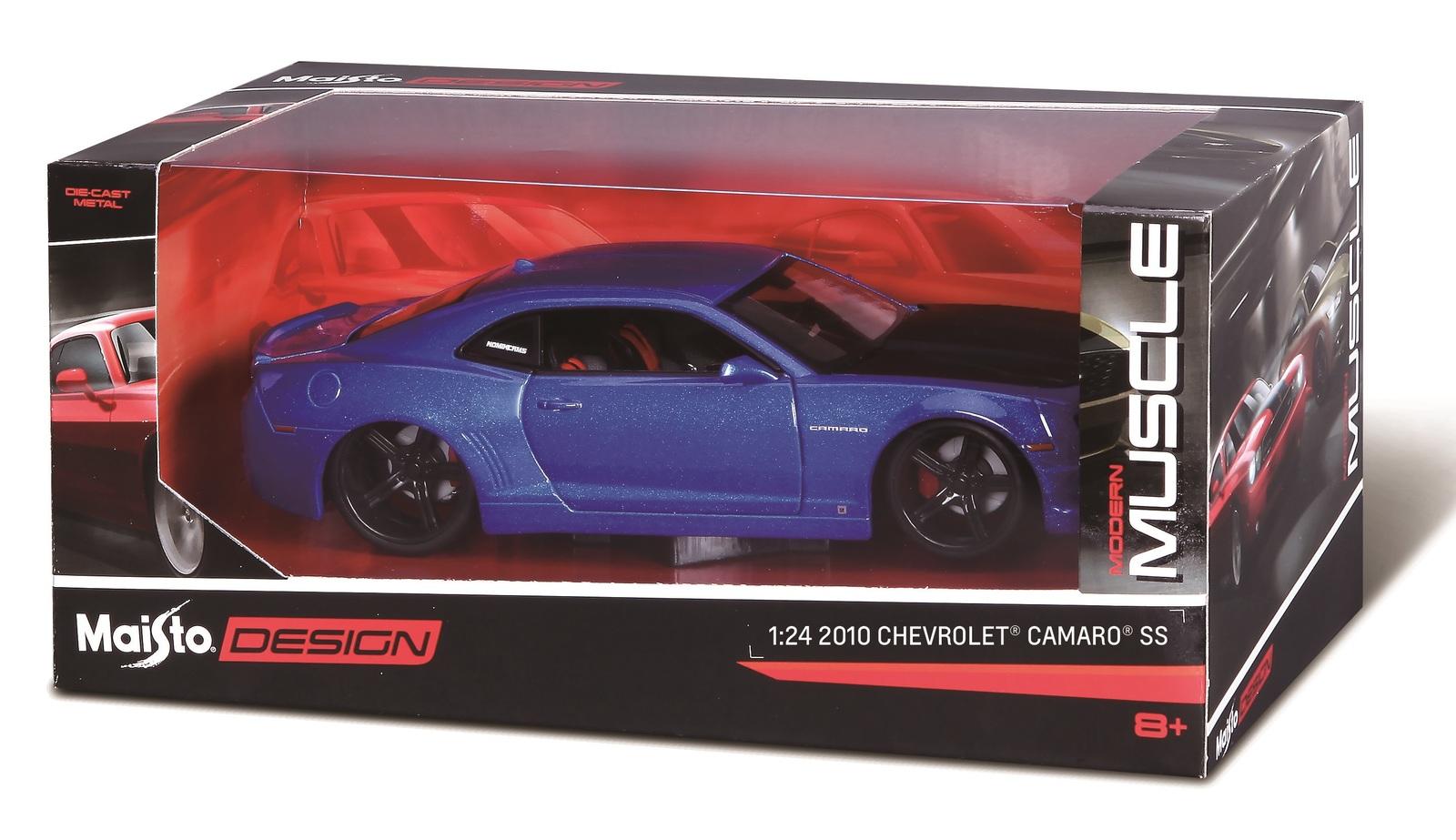 Maisto: 1:24 Die-Cast Vehicle - 2010 Chevrolet Camaro SS image