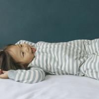 Woolbabe Duvet Zip Front Sleep Bag - Tide (2-4 Years)