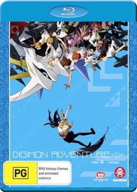 Digimon Adventure Tri. Part 6 - Future on Blu-ray