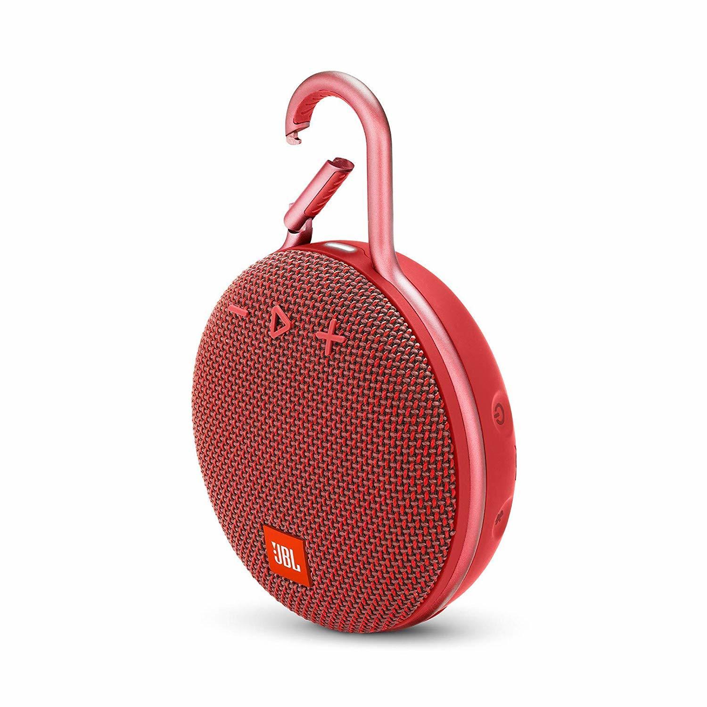 JBL Clip 3 Speaker Bluetooth Speaker - Red image