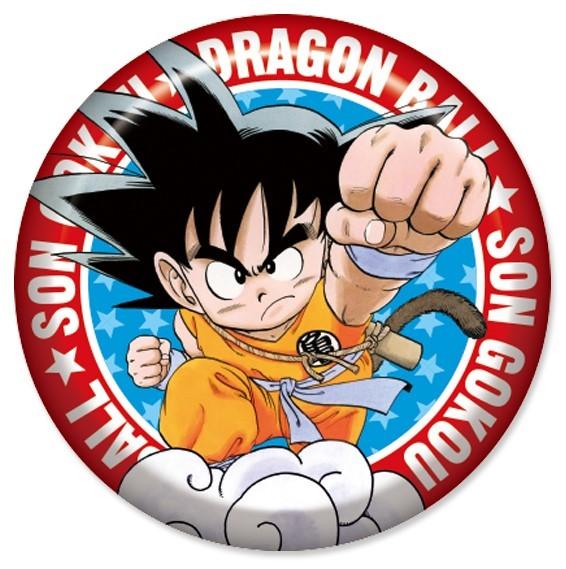 Dragon Ball: Son Goku - Plump Can Badge