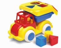 Viking Toys - Jumbo Shape Truck with 2 Figures