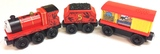 Thomas & Friends Wooden Railway - James with Cargo (3 Pack)