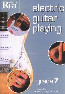 Electric Guitar Playing, Grade 7 by Tony Skinner image