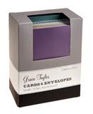 Grace Taylor Cards 15 x 10.5cm Asst Metallic (50 Pack)