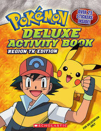Deluxe Activity Book: Johto Edition by Katherine Fang image