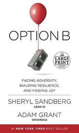 Option B by Sheryl Sandberg image