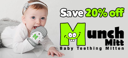 15% off Munch Mitt & Buddy Bib