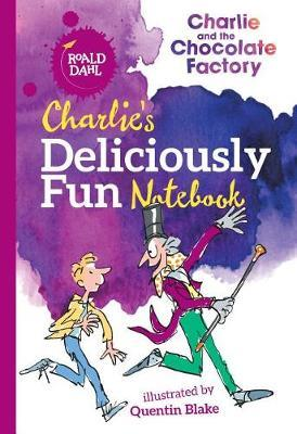 Charlie's Deliciously Fun Notebook by Roald Dahl image