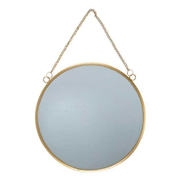 Sass & Belle: Touch Of Gold Round Mirror