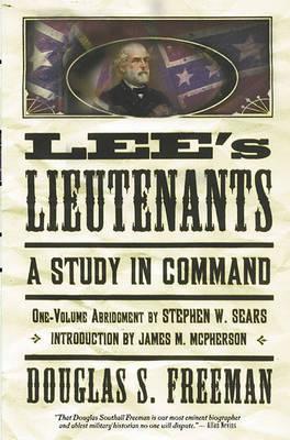 Lee's Lieutenants by Douglas Southall Freeman image
