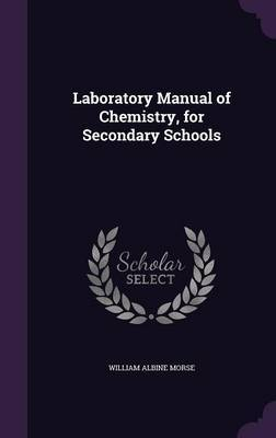 Laboratory Manual of Chemistry, for Secondary Schools by William Albine Morse image
