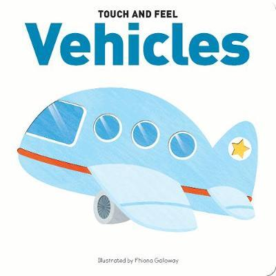 Touch & Feel Board Book Vehicles